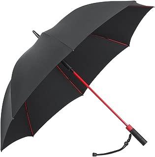 PLEMO 長傘 大きな傘 自動開けステッキ傘 紳士傘 耐風傘 撥水加工 梅雨対策