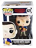 Funko Pop Stranger Things Eleven with Eggos Vinyl Figure , Styles May Vary - With/Without...