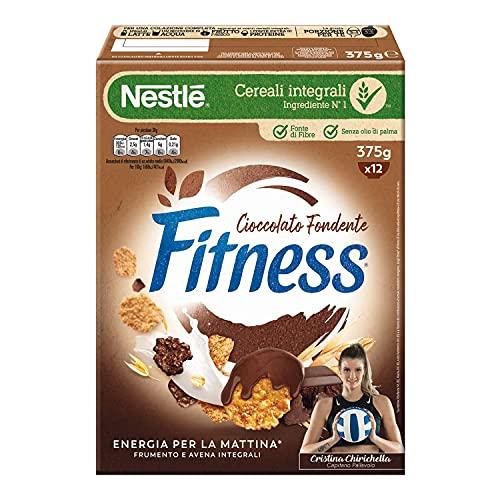 Fitness Cioccolato Fondente Cereali, 375g
