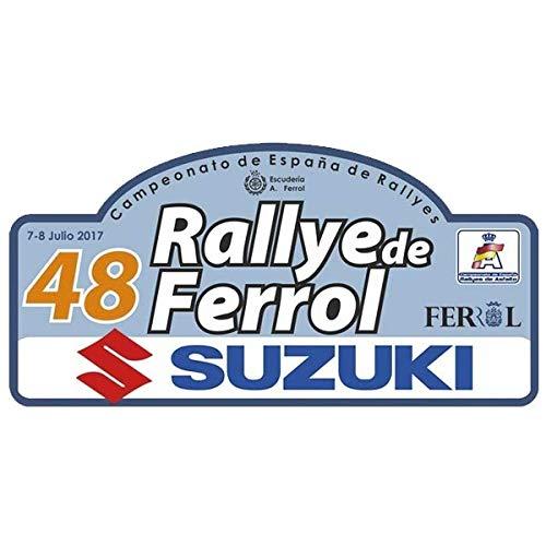 Pegatina Placa Rallye FERROL 2017 PR168