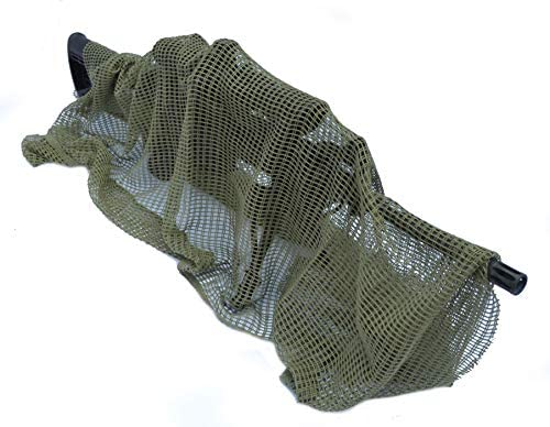 Acid Tactical Rifle Sniper Veil Camouflage Netting Mesh Gun Wrap Material Camo Patterns OD Green product image