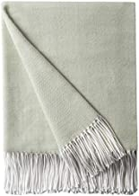 Sponsored Ad – Bourina Decorative Herringbone Faux Cashmere Fringe Throw Blanket Lightweight Soft Cozy for Bed or Sofa Far...