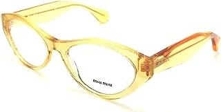 Miu Miu MU03MV Eyeglasses-PDA/1O1 Glitter Gold Gradient-52mm
