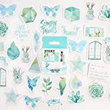 Simple Series Cute Boxed Sticker Planner Scrapbook Stationery Ese Diary Sticker-G