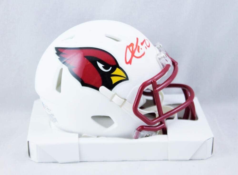 Kyler Ranking TOP9 Murray Autographed Outlet SALE Arizona Cardinals White Flat Helme Mini
