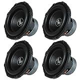 Audiopipe 12' 1600 Watt Car Audio 4 Ohm DVC Subwoofer Sub TXXBD12 (4 Pack)
