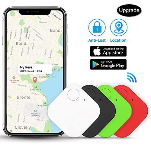 Kimfly Key Finder Smart Tracker Item Finder Phone Finder Bluetooth Tag -4Pcs
