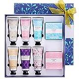 Spa Luxetique Crème pour les Mains, 6PC Lotions pour les Mains, 2PC Savons pour les mains, Coffret Cadeau pour Femmes, Idée Cadeau de Nöel