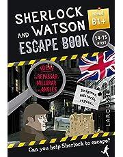 Sherlock & Watson. Escape book per repassar anglès. 14-15 anys