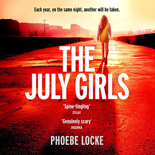 The July Girls audiobook cover art