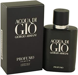Giorgio Armani Acqua Di Gio Profumo Eau de Parfum Spray For Men, 75 ml