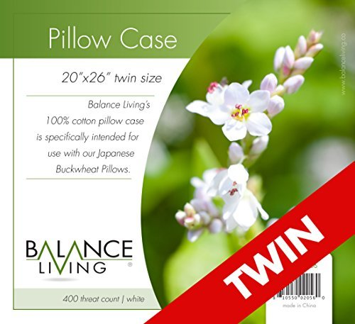 Balance Living Culina Taie d'oreiller pour lit Double Blanc