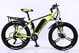 ZHONGXIN Vélo Electrique, 26' E-Bike, vélo de Ville léger, Frein à Disque, Levier de Vitesses 27 Vitesses (B3,36V 13AH/Endurance 90km)