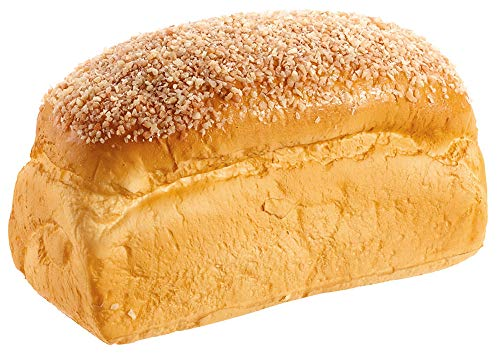 TenWaterloo Artificial Bread Loaf 8.5 Inches Long x 4.5 Inches Wide, Seeded Bread Loaf for Display