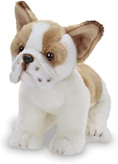Bearington Collection Frenchie Plush Stuffed Animal French Bulldog Puppy Dog, 13 inches