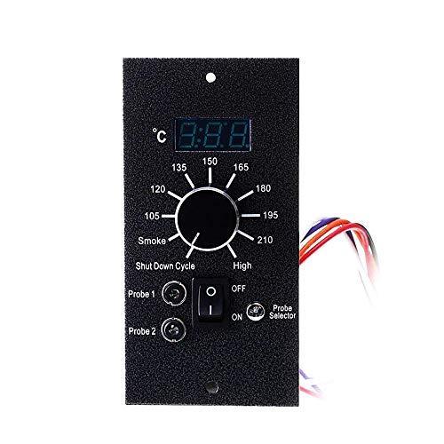 230 V Eisen Digital Thermostat Board Upgrade Temperaturregler Ersatz Für Pellet Grill Küche BBQ Grill Herd Werkzeuge,EU-Standard