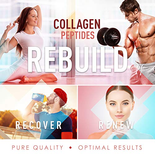 Premium Multi Collagen Peptides Capsules (Types I, II, III, V, X) - Anti-Aging, Hair, Skin and Nails, Digestive & Joint Health Supplement, Hydrolyzed Collagen Pills, Women & Men (90 Collagen Capsules) 6