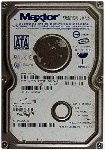 160 GB HDD Maxtor DiamondMax Plus 9 6Y160M0 SATA ID13829