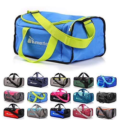 meteor Sporttasche Kinder 20-40L Gym Tasche Herren schwimmtasche Reisetasche Urlaubstasche klein Fitnesstasche Damen Riementasche Kindertaschen Schule-Taschen turntasche Jungen