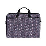 LOSNINA Laptop Tasche 15-15.4 Zoll,Dekorativer Aufbau mit blühender Blumen Blumenstrauß Korsage...