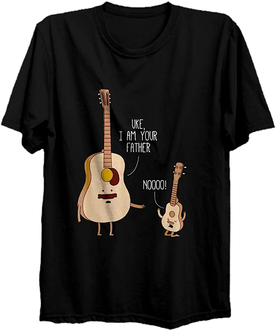 Uke I Am Complete Free Shipping Your Father - T-Shirt Lon Guitar Ukulele Music Seattle Mall Hoodie