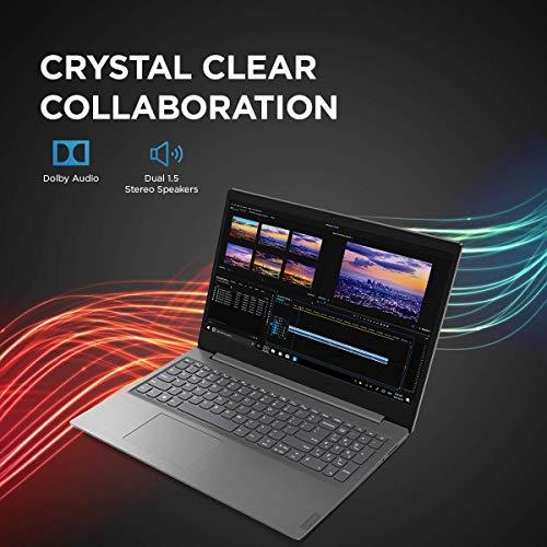 Lenovo V15 Intel Core i3 10th Gen 15.6-inch HD Thin and Light Laptop (i3-1005G1/ 4GB RAM/ 1TB HDD/ Windows 10 Home/ Iron Grey/ 1.85 kg), 82C500PXIH