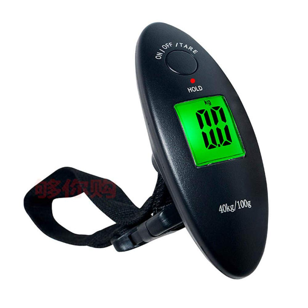 40Kg 100g Translated Digital Luggage Scale for Bag Oakland Mall Hangin a Travel Suitcase