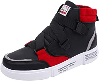 Men's Trend high-Top Outdoor Sneakers Soft And Durable Non-slip Wild And Comfortable Street Trend Hip Hop Training Dance Fight Workout Casual Relaxation Shoes