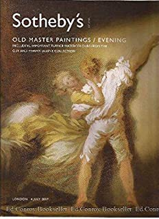 Old Master Paintings, including important Turner watercolours from the Guy and Myriam Ullens collection: Wednesday 4 July 2007 Evening (Sotheby's London)