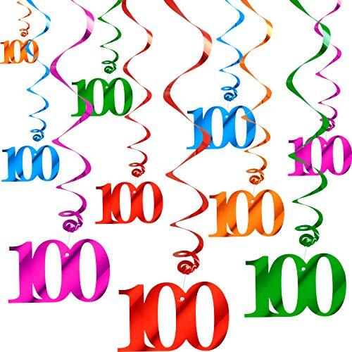 100th day streamer - 9