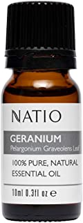 Natio Pure Essential Oil, Geranium, 10ml