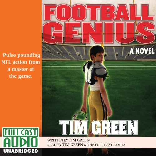 Football Genius audiobook cover art
