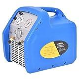 Goplus Refrigerant Recovery Unit Automotive HVAC Recovery System 110V 60Hz Compact Portable Unit Blue