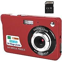 CamKing 24MP Digital Camera with 32GB sd Card