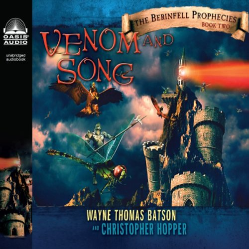 Venom and Song audiobook cover art