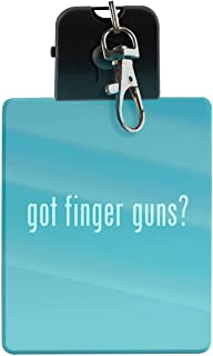 got finger guns? - LED Key Chain with Easy Clasp