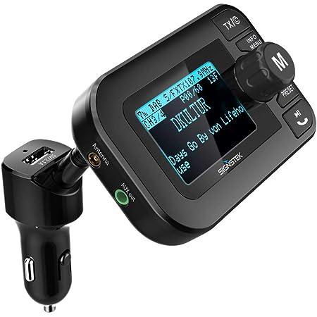 Signstek 5 In 1 Auto Dab Digital Radio Mit Bluetooth Elektronik