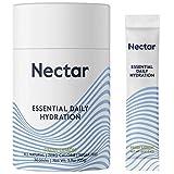 Nectar Essential Daily Hydration   Sugar & Calorie Free   Clean Electrolyte + Mineral Powder   Fresh...