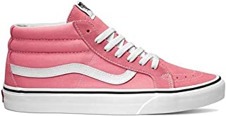 SK8 Mid Reissue Pink Lemonade/True White Men's Skate Shoes Size 10