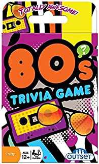 Outset Media 80's Trivia Card Game - Card Game by Cobble Hill Puzzles (19138)