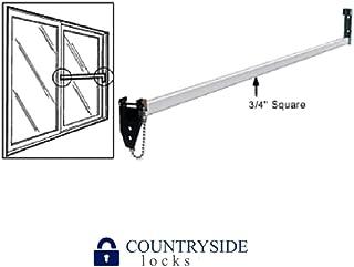 Strybuc 16108C-48 Charley Bar for Sliding Glass Door, 48