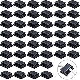 200 pezzi clip autoadesive per la gestione dei cavi clip per la gestione dei cavi fermacavi adesivi sistema di gestione del cavo per la tv del pc portatile dell'ufficio domestico