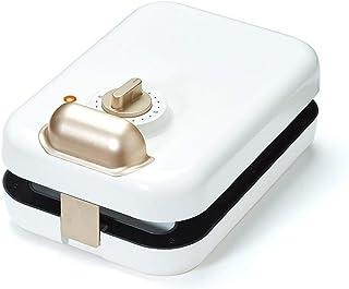 Sandwich Maker Brödrost Panini Machine Non-Stick Deep Filled Sandwiches (Color : White)