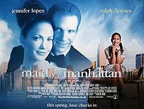 Maid In Manhatten Jennifer Lopez Ralph Fiennes Poster