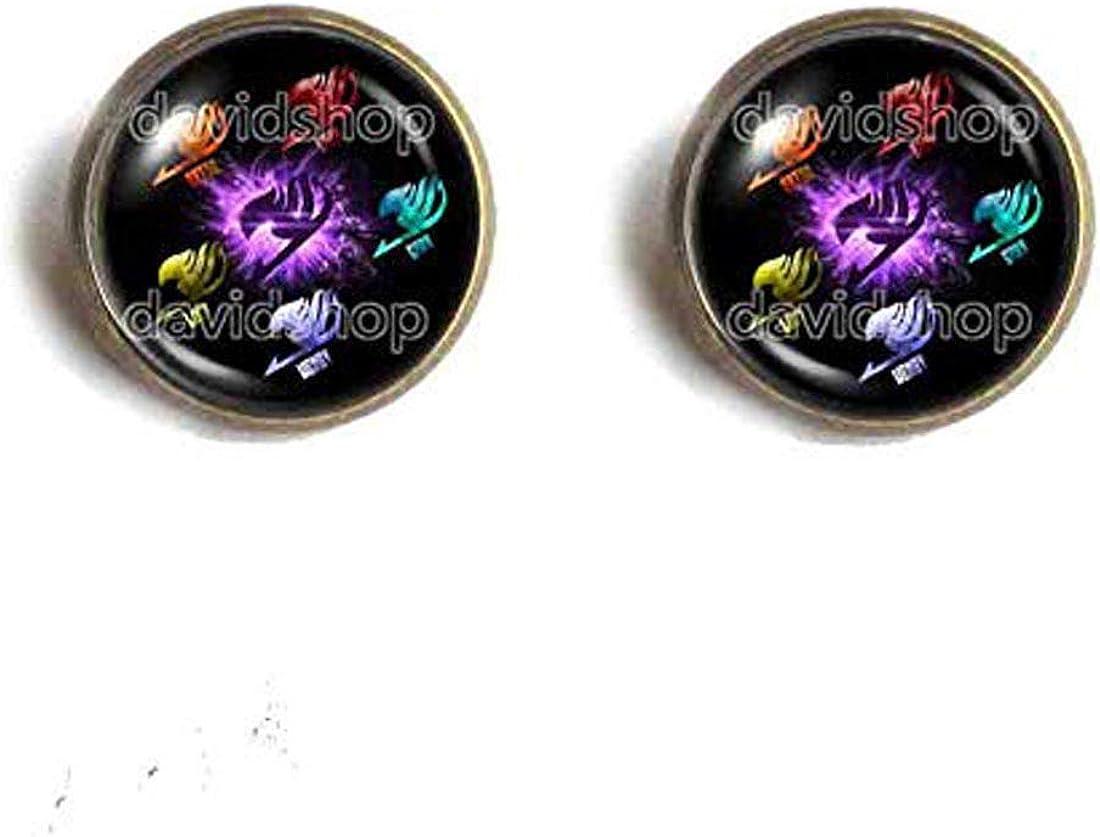 Handmade Fashion Jewelry Purple Wing Bird Symbol Erza Lucy Grey Wendy Natsu Dragneel Fairy Tail Guild Marks Ear Cuff Earring Cosplay