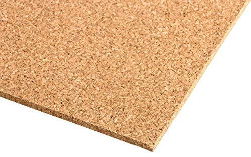 Presskorkplatte | Korkplatte | Pinnwand Kork | 900x600 mm | verschiedene Stärken (Dicke) | 90x60 cm (5 mm dick)