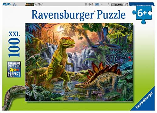 Ravensburger Puzzle - L'Oasi dei Dinosauri Puzzle 100 XXL, 12888 4