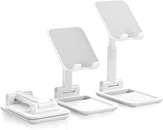 Beauty Nymph Cell Phone Tablet Stand Fully Foldable Adjustable Desktop Phone Holder Compatible with All Mobile Phones Tabl...