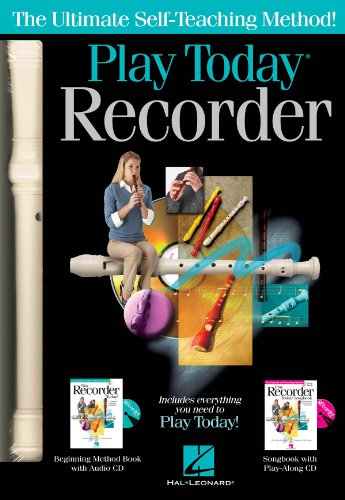 Hal Leonard 119830 Play Recorder Today - Kit completo de grabación
