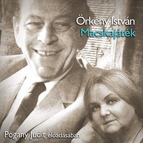 Macskajáték audiobook cover art
